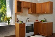 Кухня Лаура Патина, недорогие угловые кухни